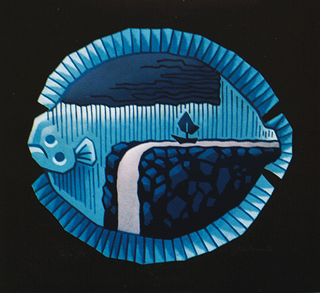 JAPANESE FISH SERIES/ Karei, 2002, Edition 5, 60x75cm, 650 €