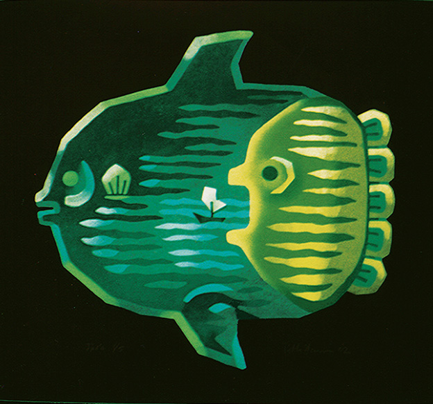 JAPANESE FISH SERIES/ Mambo, 2002, Edition 5, 60x75cm, 650 €