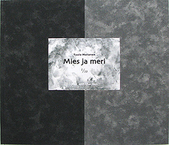MIES JA MERI (Man and Sea) 2001, book cover