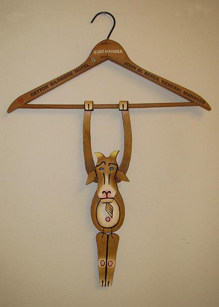 Goat Hanger, set up