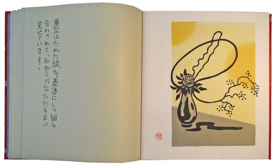 Ikebana Picture Book, 2018, page 8