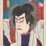 Kabukiza shin-kyogen. Actor 9. Price 55 €